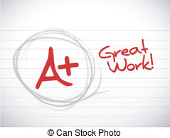 A plus grade Vector Clip Art EPS Images. 415 A plus grade clipart.