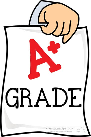 Graded A plus paper » Clipart Portal.