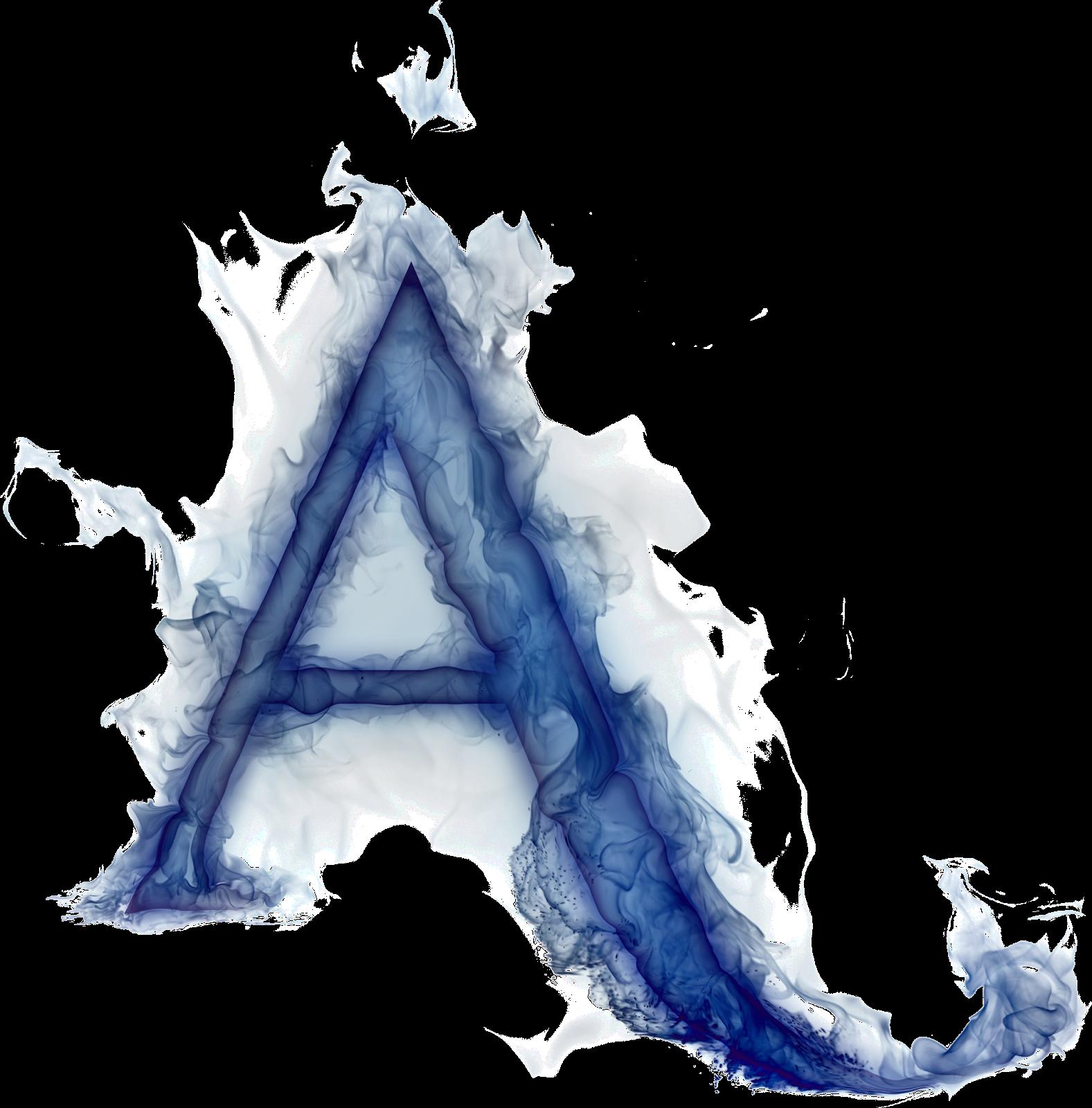 Letter A PNG Transparent Image.