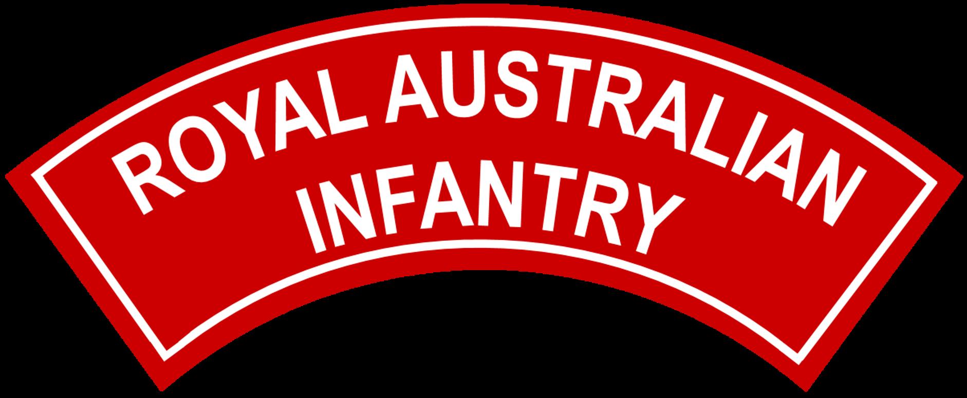 File:Royal Australian Infantry battledress flash with border.png.