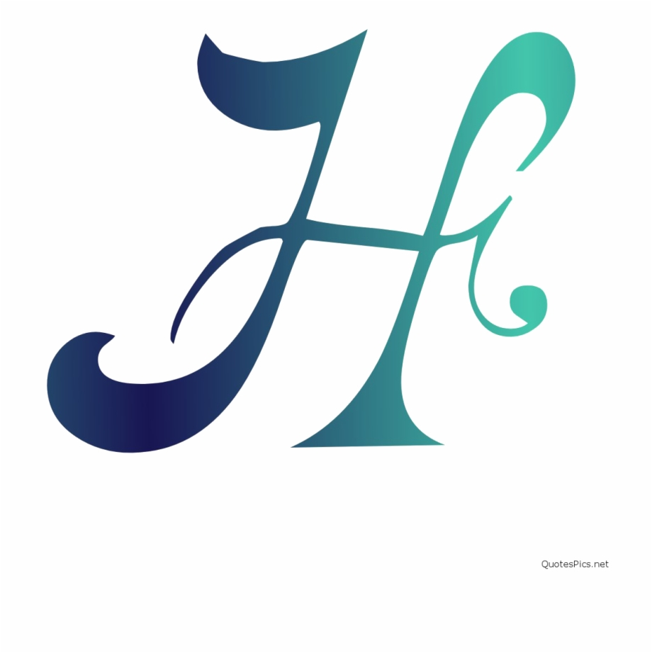 H Letter Png File Download Free.