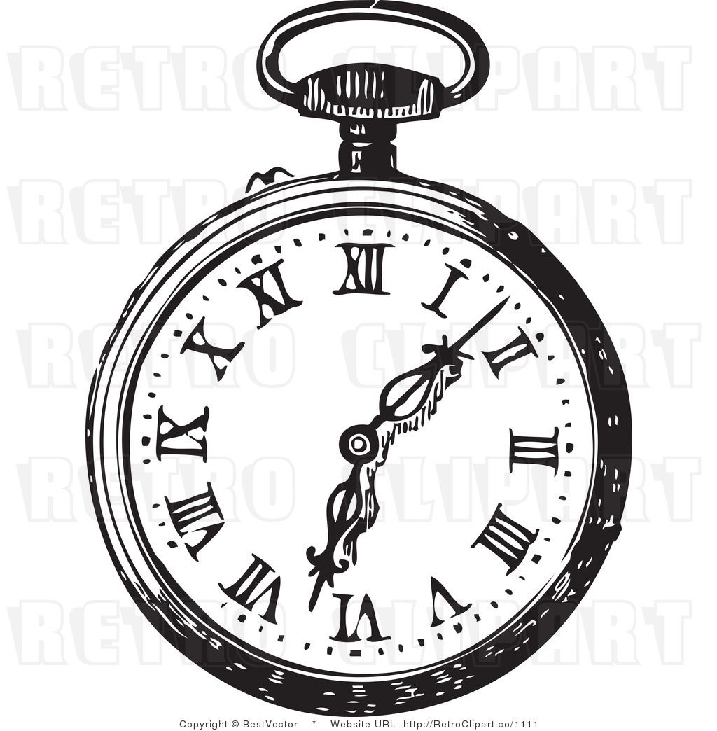 Pocket watch clipart » Clipart Station.