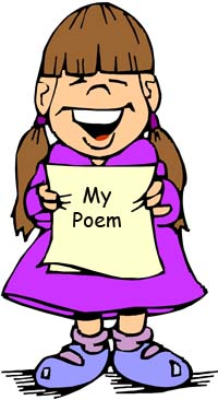 Reciting a poem clipart 7 » Clipart Station.