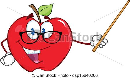 Classroom pointer clipart.