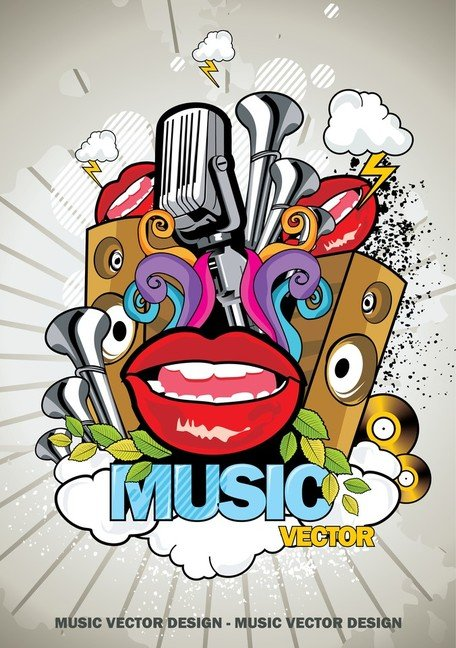Trend Of Music Posters 01 Clipart Picture Free Download.