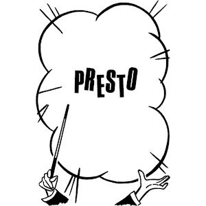 Presto clipart, cliparts of Presto free download (wmf, eps.