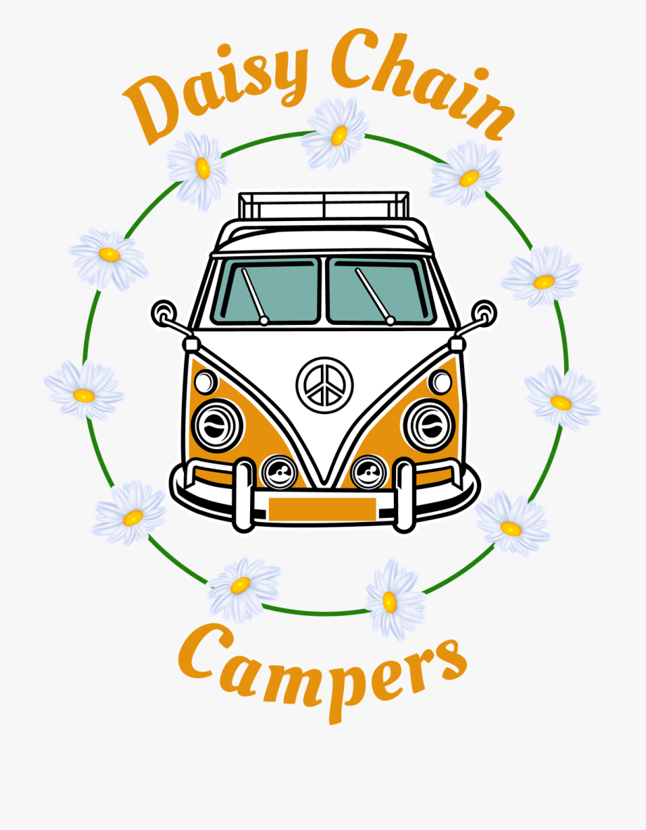 Daisychain Campers Logo , Transparent Cartoon, Free Cliparts.