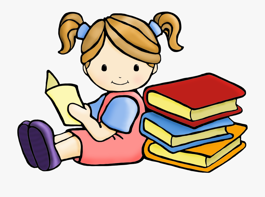 Clipart Of Read, Children And Reading.