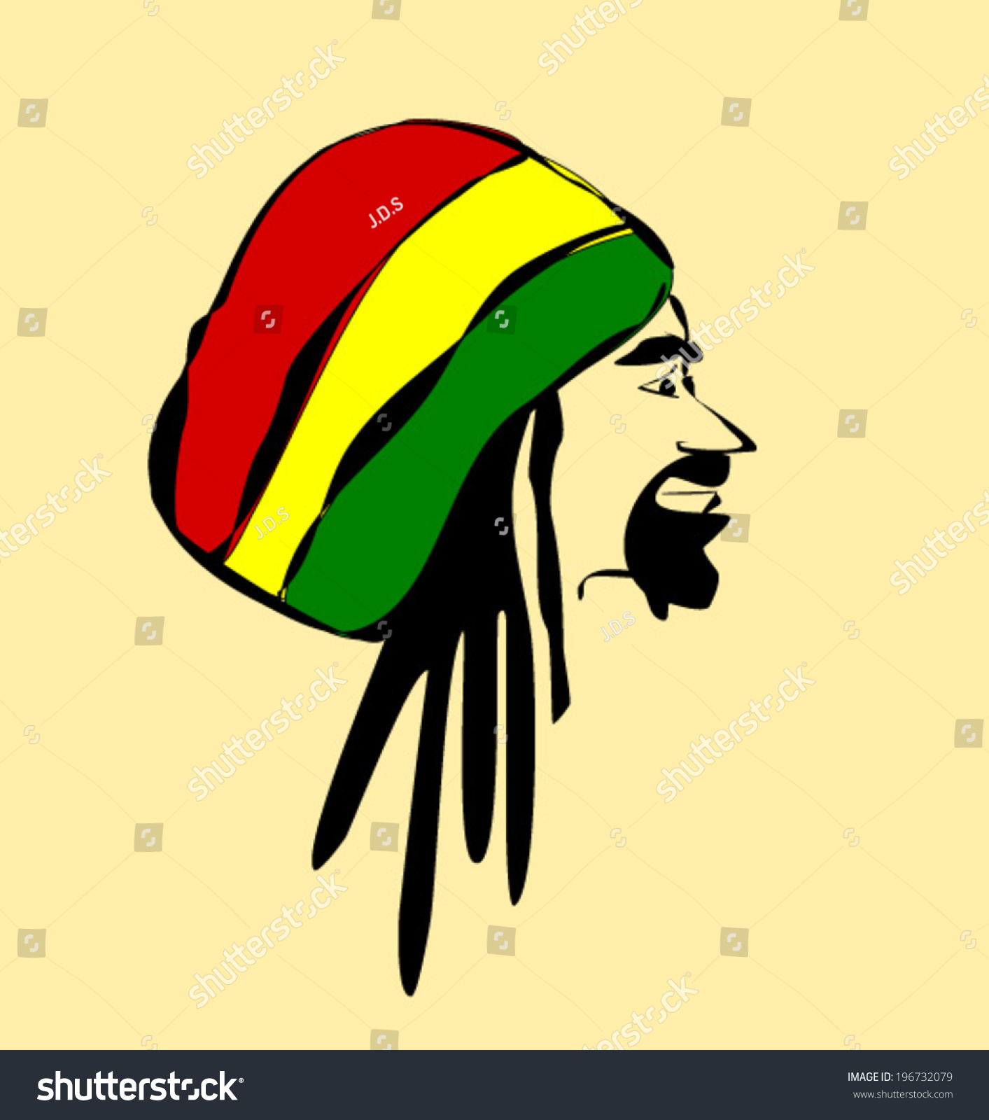 Similiar Cartoon Dreadlock Rasta Keywords.
