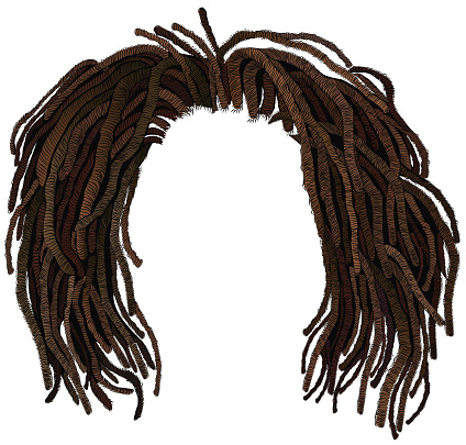 Dreadlocks Clipart.