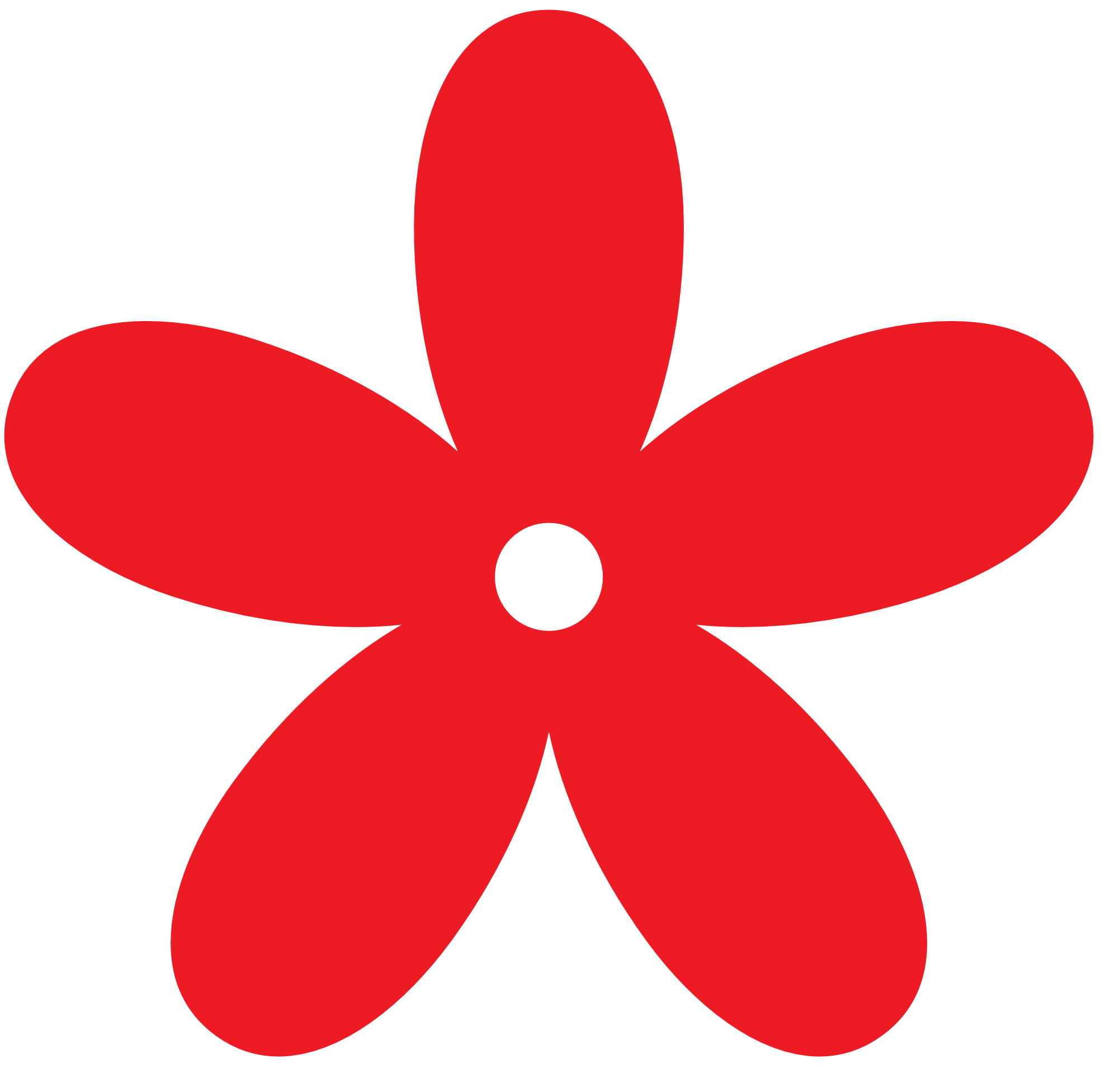 A red flower clipart #20