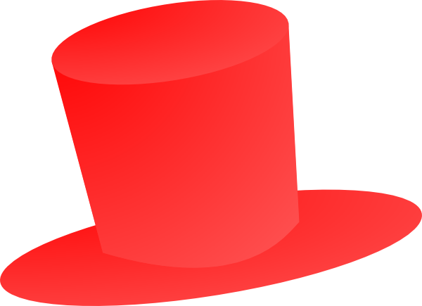 Red Top Hat Clip Art at Clker.com.