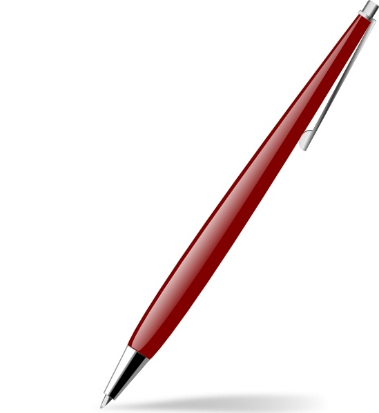 Red pen clipart 3 » Clipart Station.
