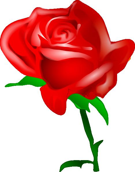 Dozen Red Roses Clipart.