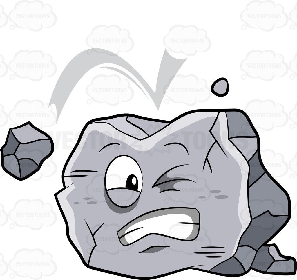 Rock Fall Clipart.