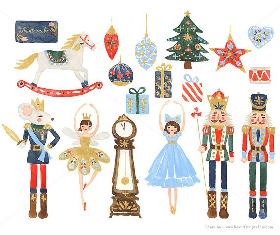 Nutcracker Clip Art for personal and commercial use.