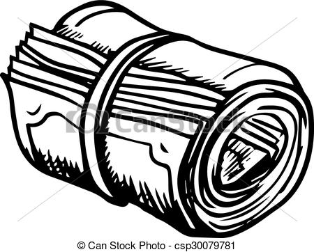 Roll Of Money Clipart.