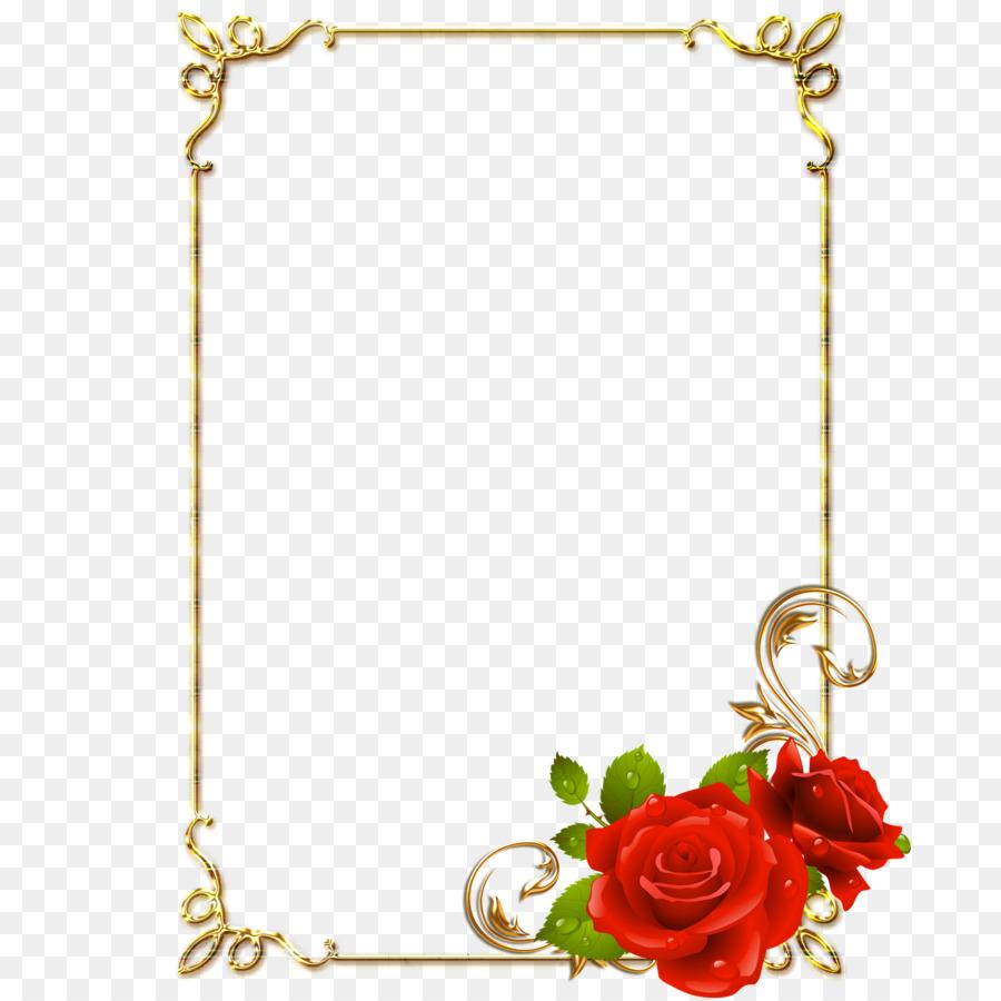 Floral Background Frame clipart.