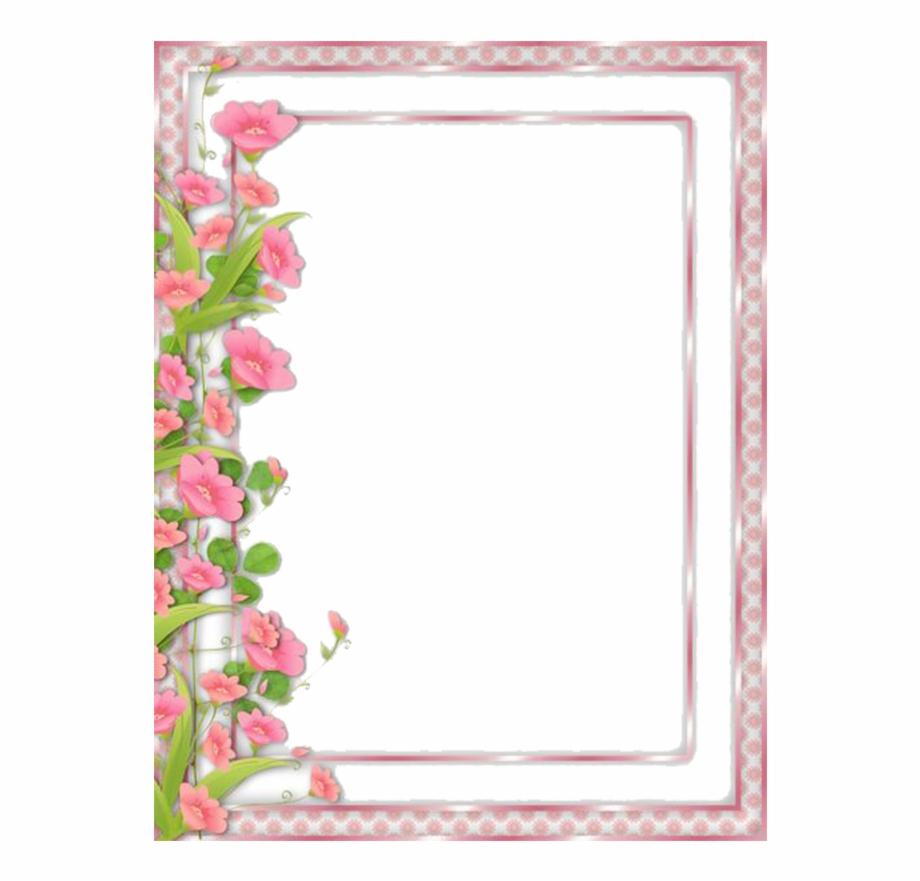Flower Frame Clipart.