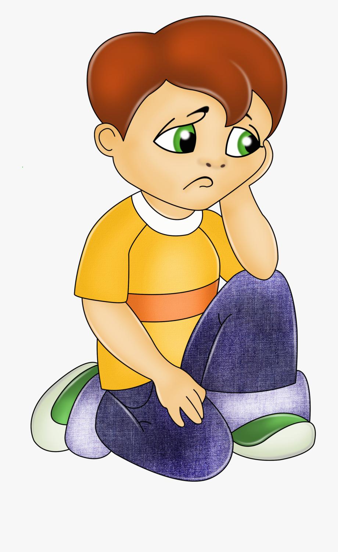 Sad Child Clipart.