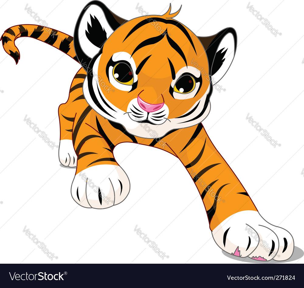 Cartoon Baby Tigers 5.