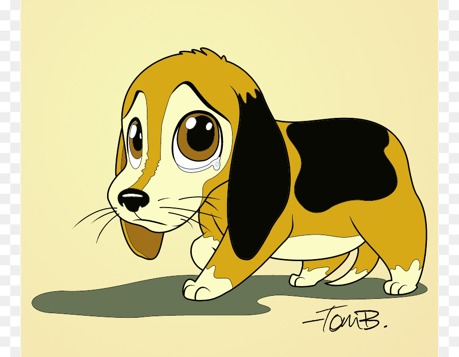 Beagle clipart sad dog, Beagle sad dog Transparent FREE for.