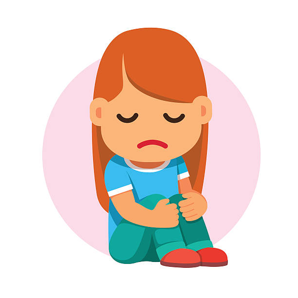 Depression clipart sad woman, Depression sad woman.