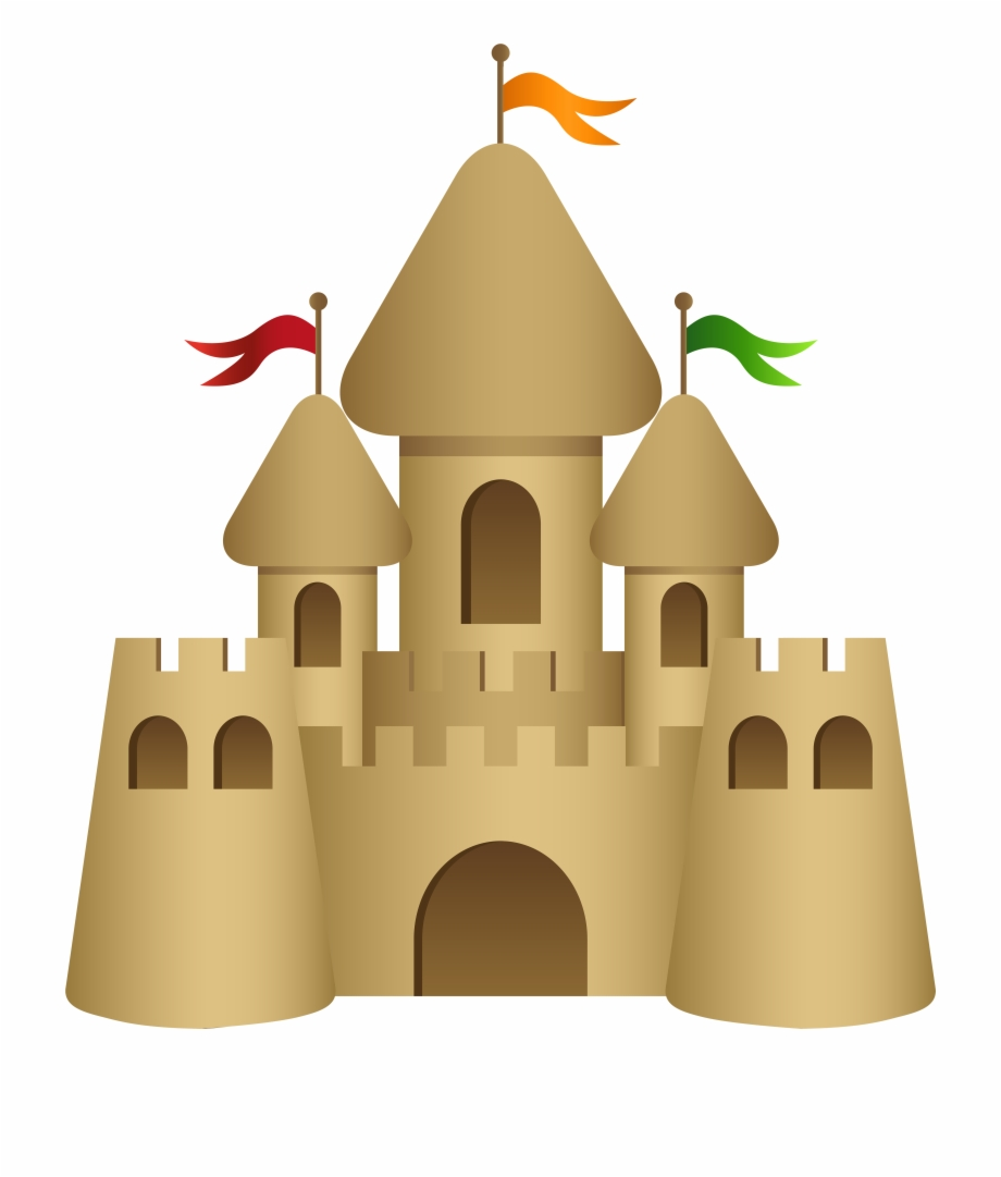 Free Sand Castle Clipart Black And White, Download Free Clip.