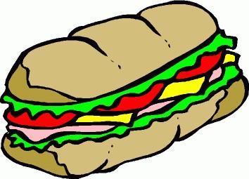Clipart sandwich.