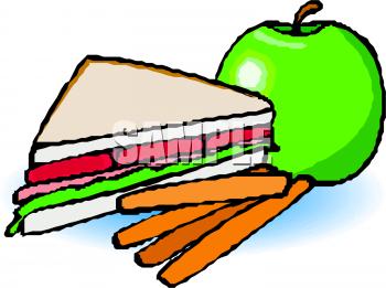 Clip Art Breakfast Sandwich Clipart.