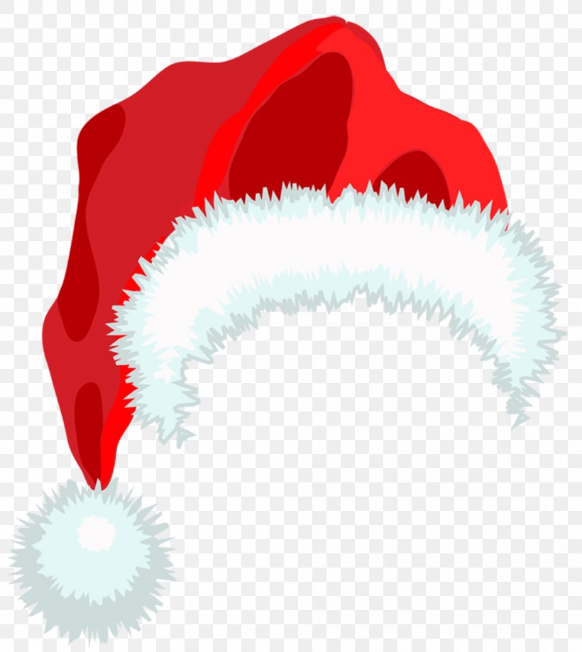 christmas santa hat clipart #10