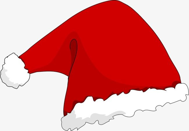 Red Christmas Hats, Santa Hat, Santa Claus, Christmas PNG.