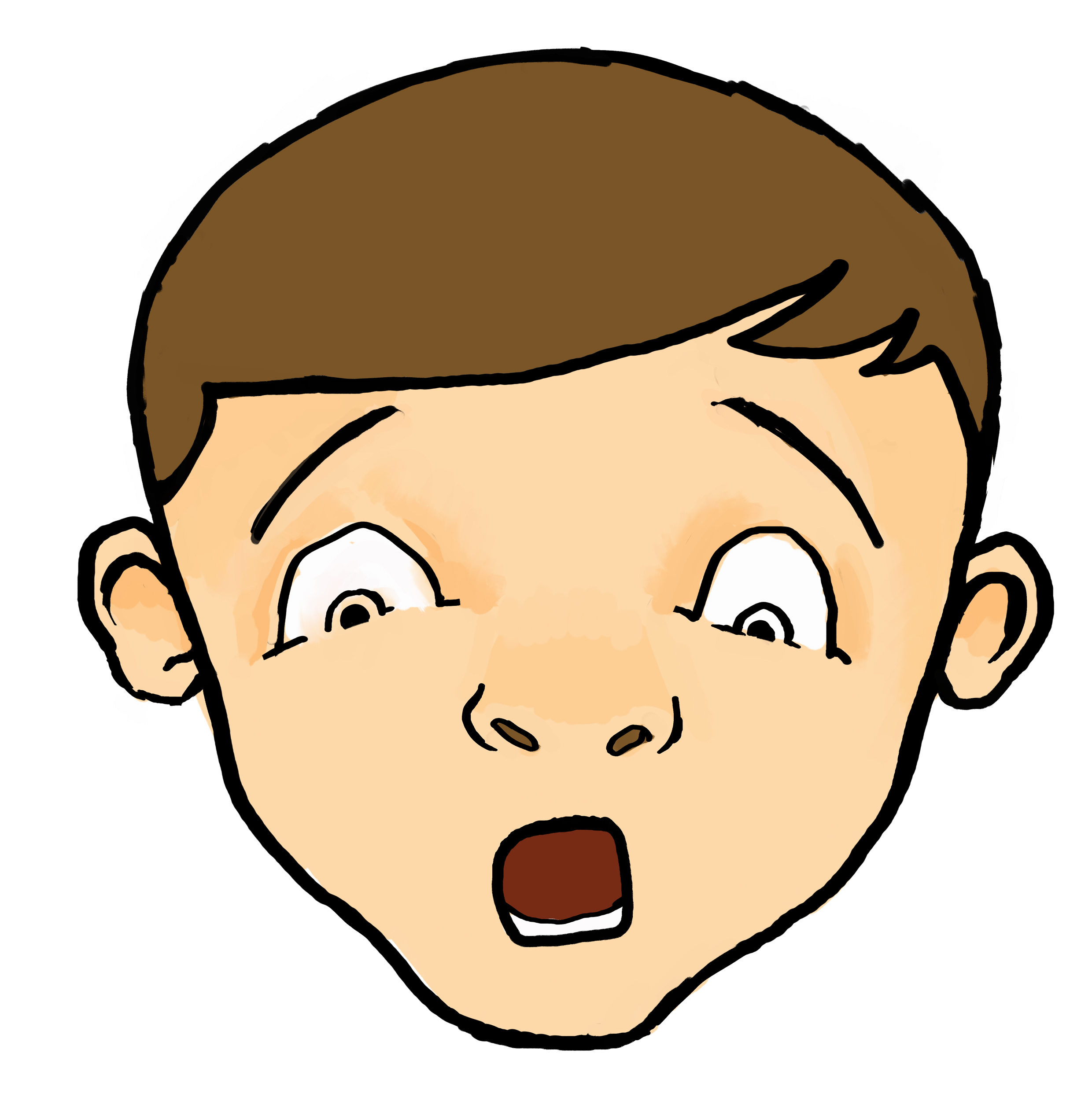 Scared Face Cliparts Free Download Clip Art.