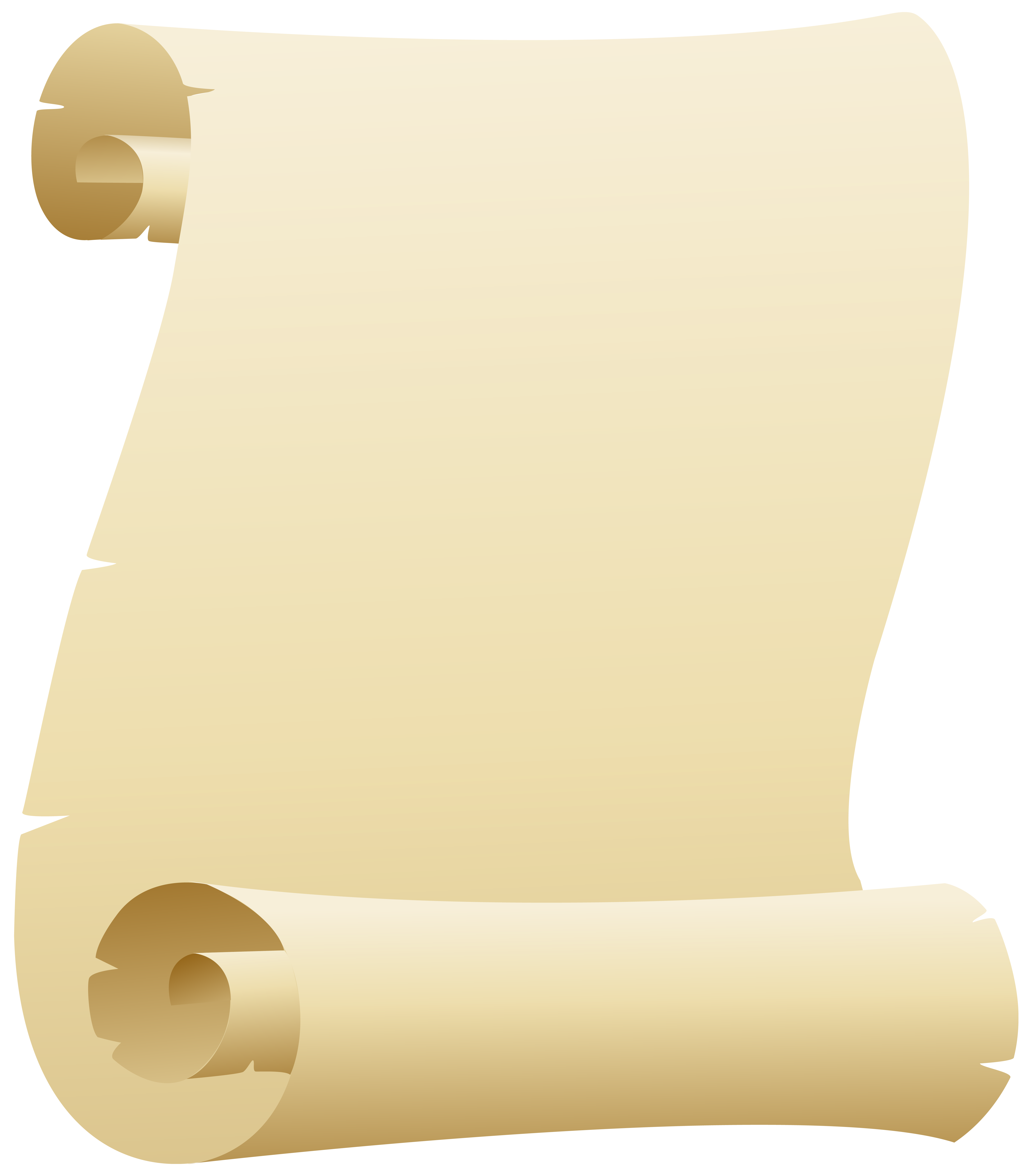 Scroll Clipart PNG Image.