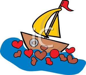 A_sailboat_in_a_sea_red_hearts_110111.