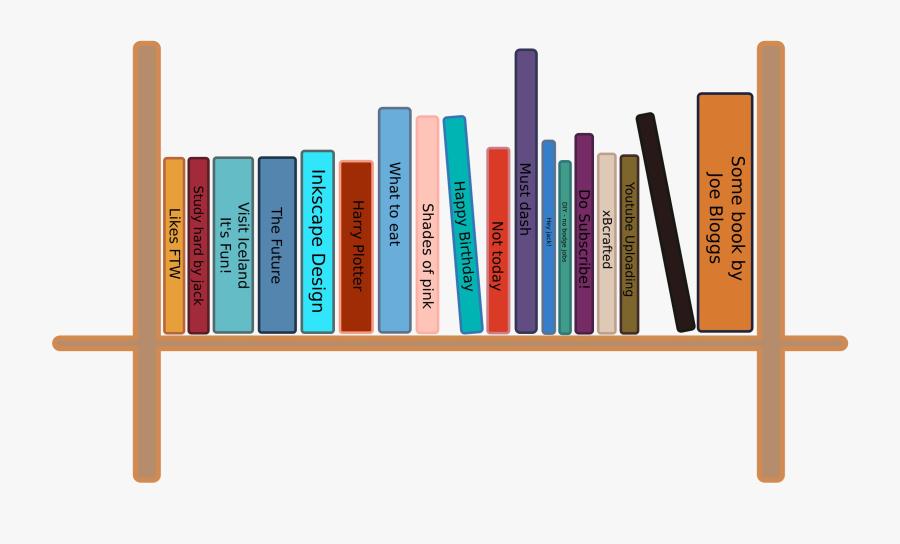 Bookshelf Png Pic.