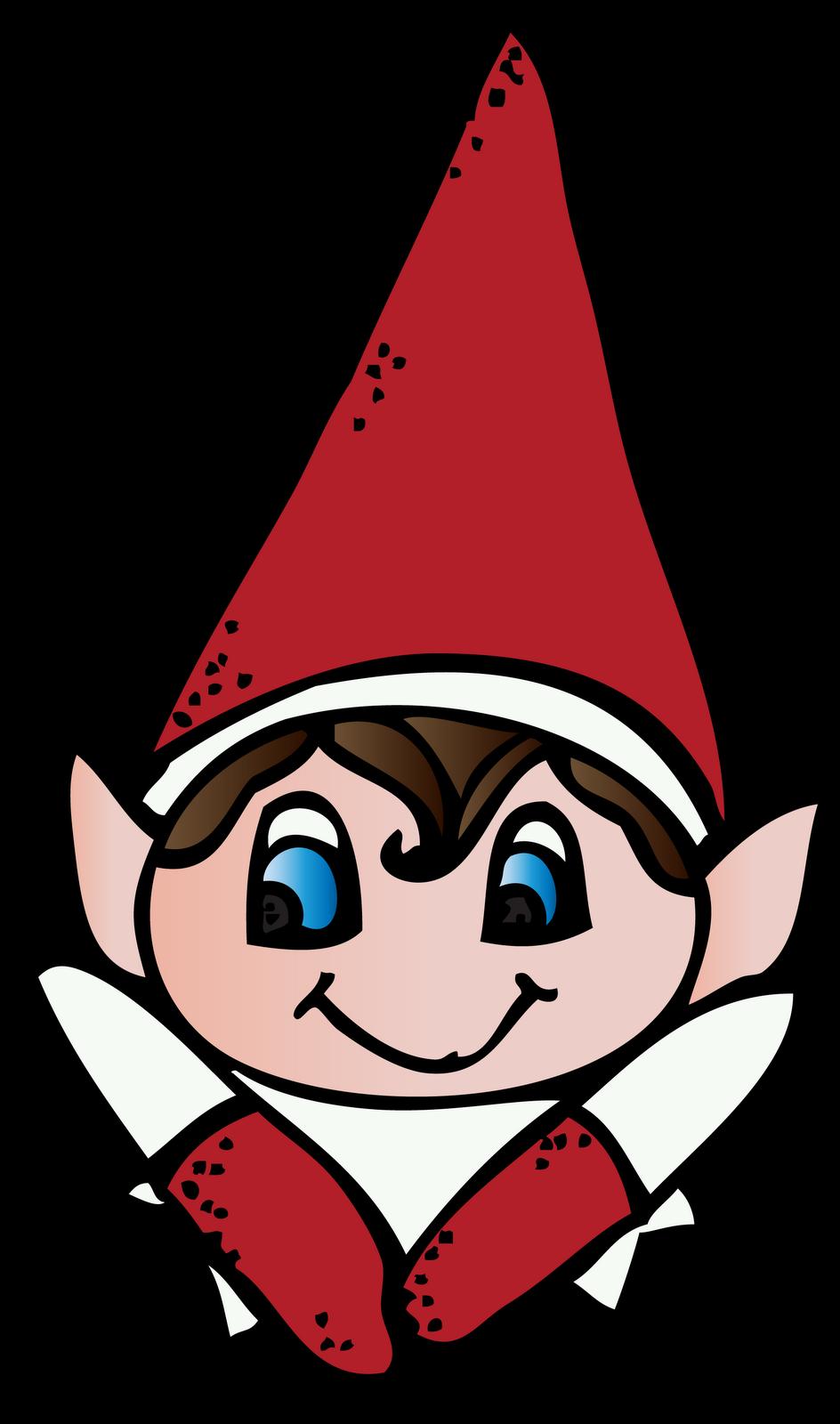 Elf On The Shelf Clipart.