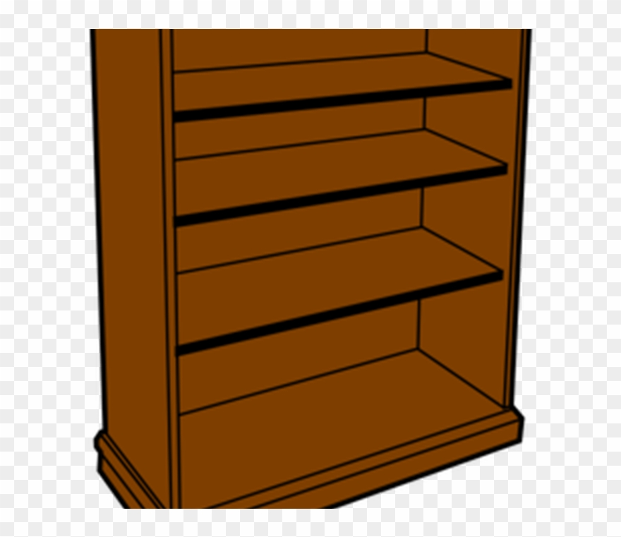 Shelf Clipart Wooden Bed.