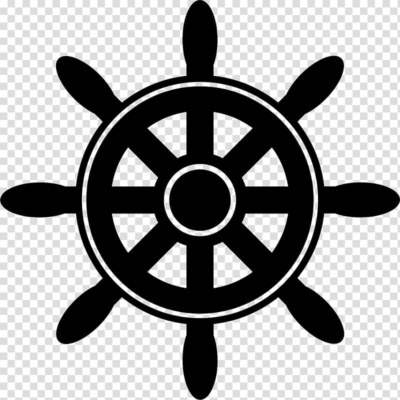 Ship\'s wheel , Ship transparent background PNG clipart.