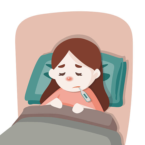Sick girl clipart 8 » Clipart Station.