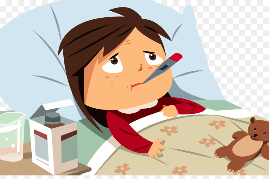 Sick Girl In Bed PNG Transparent Sick Girl In Bed.PNG Images.