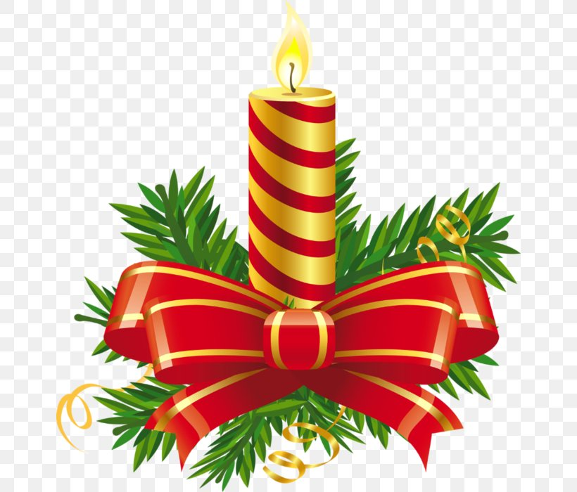 Christmas Day Candle Clip Art, PNG, 660x700px, Christmas.