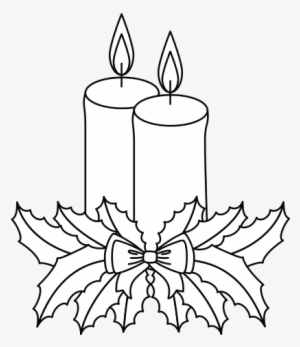 Christmas Candle PNG Images.