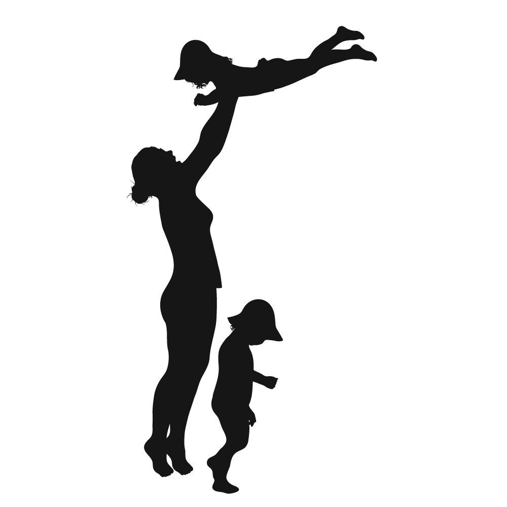 Single mom clipart.