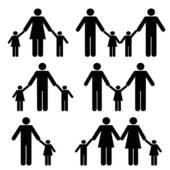 Single parent Clip Art Vector Graphics. 822 single parent EPS.