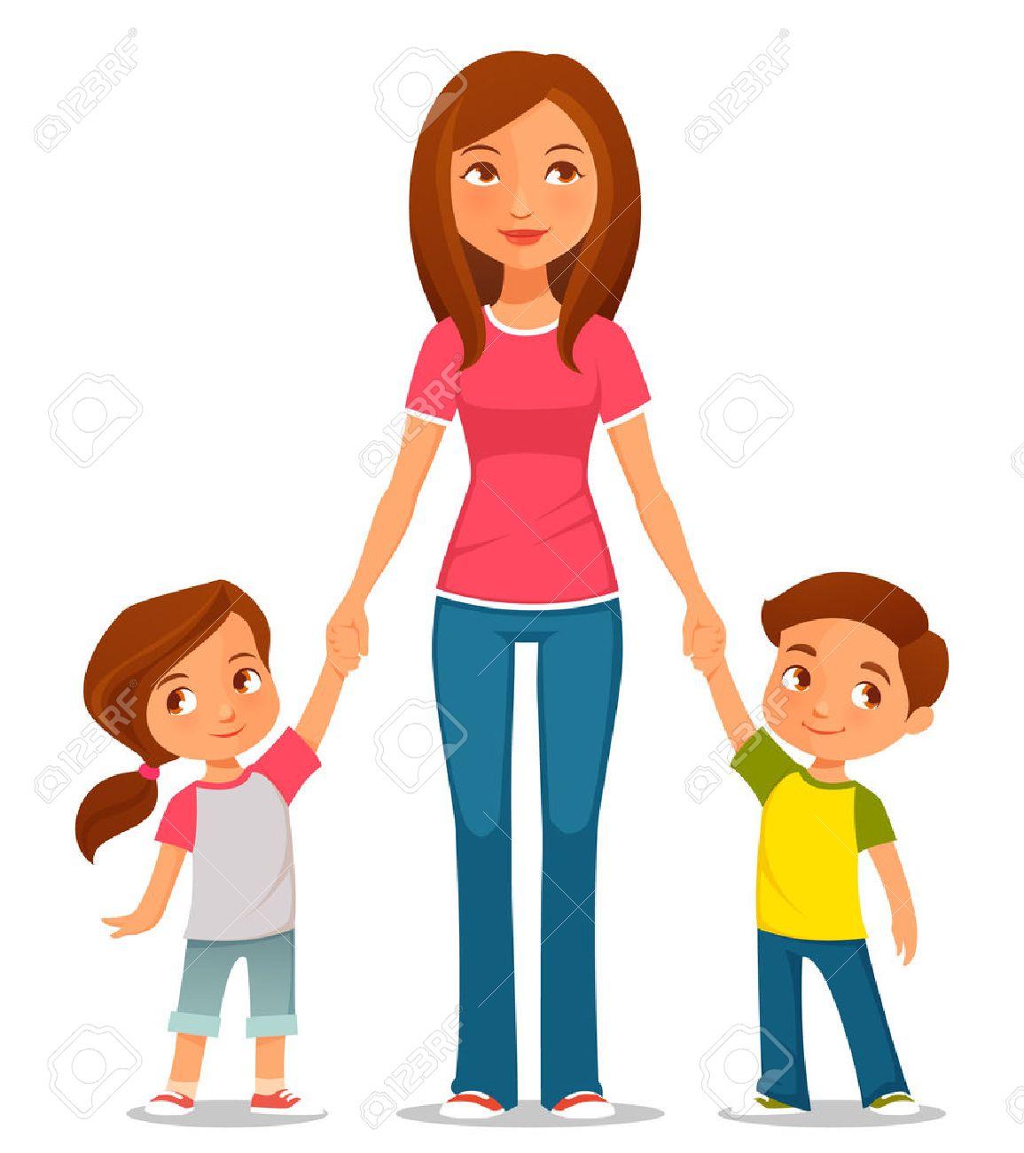 Single parent family clipart 4 » Clipart Station.