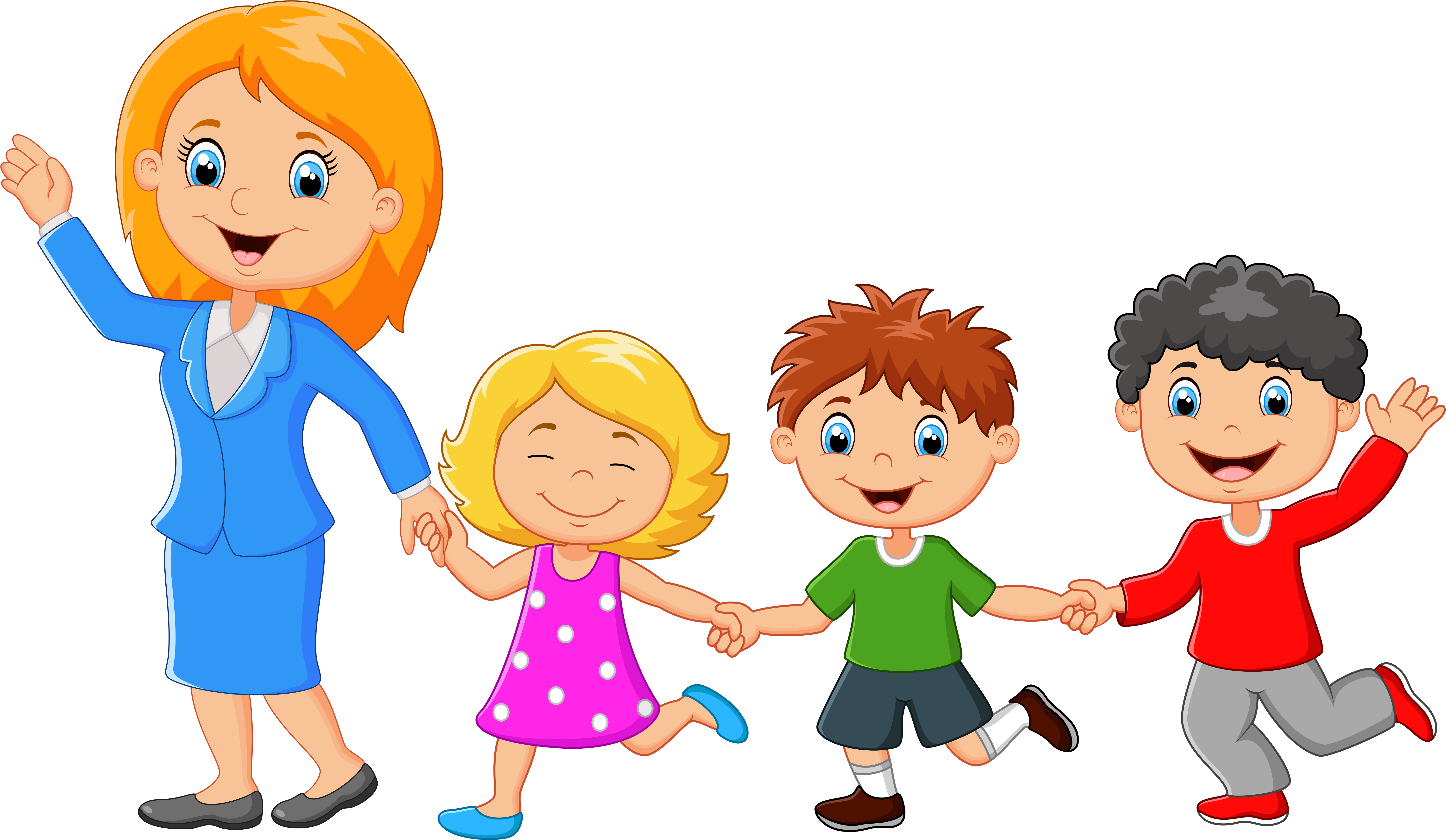 HD Families Clipart Back.