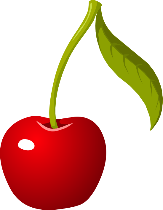 Cherry Fruit Clip Art.