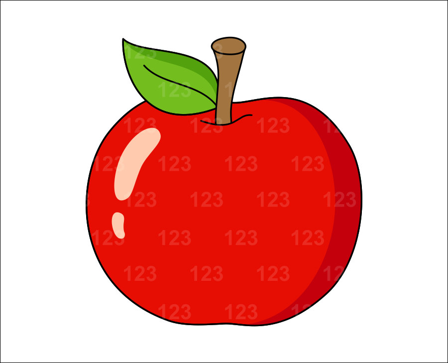 Single vegetables pictures clipart.