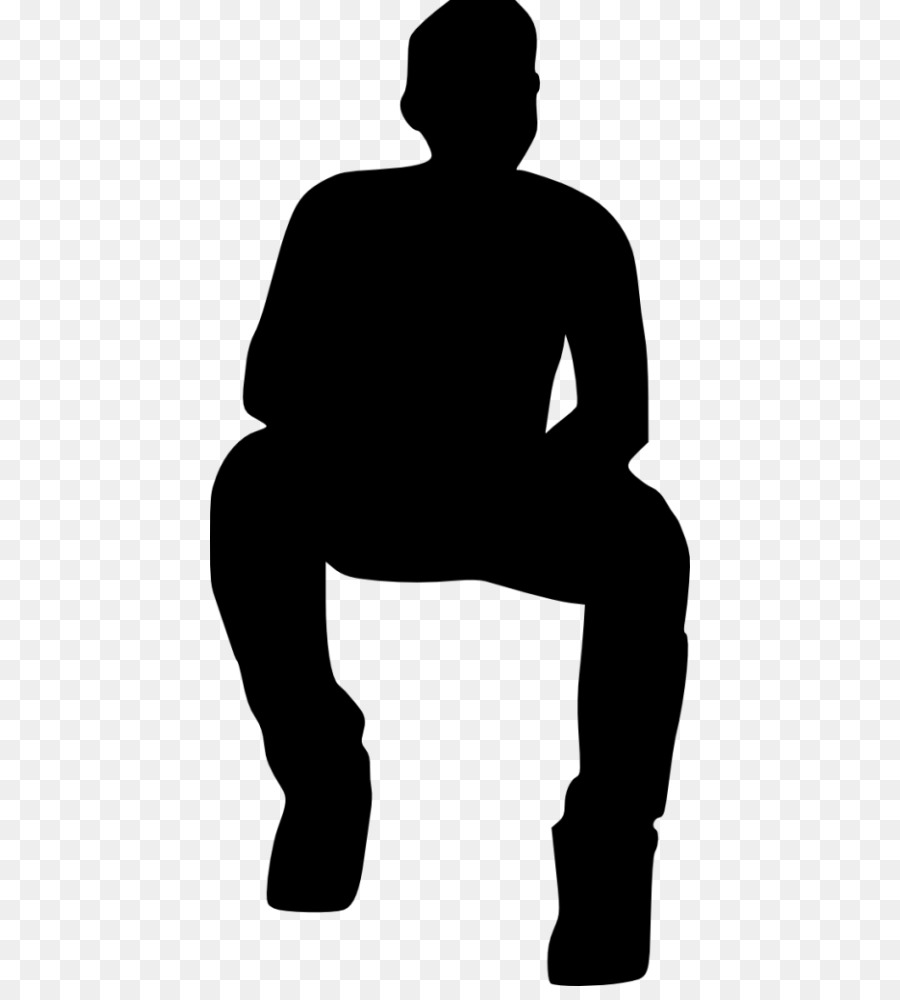 Free Sitting Man Silhouette, Download Free Clip Art, Free.